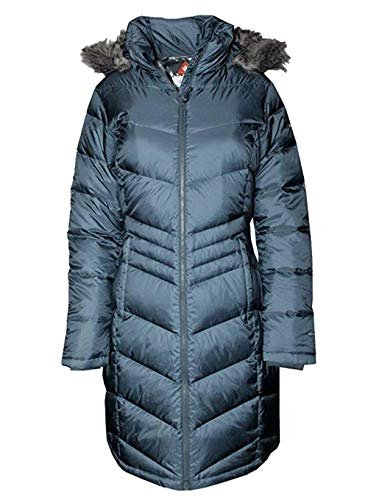 Columbia Women's Polar Freeze Long Down Winter Puffer Jacket (Mystery, S)