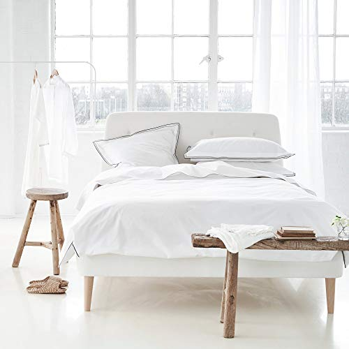 Designers Guild 3359104058859Astor Funda de edredón de algodón Natural 200x 200cm