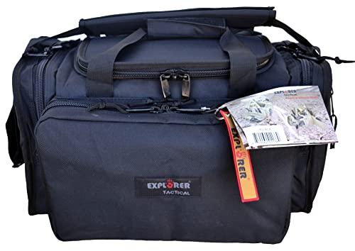 Explorer Large Padded Deluxe Tactical Range Bag -...