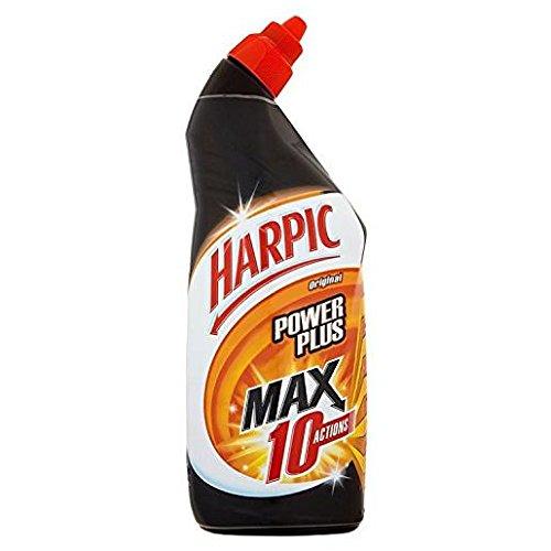 HARPIC - Lote de 5 geles para WC Powerplus limpiador superpotente – 750 ml
