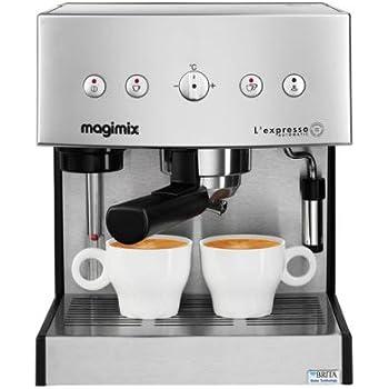 Magimix Machine à expresso Goteo chrome 250 x 240 x 300 mm