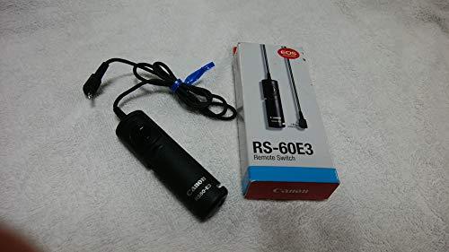 Canon 2469A002 Fernauslöser RS-60E3 in schwarz für Canon EOS 300D / 350D / 400D