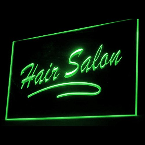 160053 Hair Salon Length Straight EXTENSION Convenient Display LED Light Neon Sign