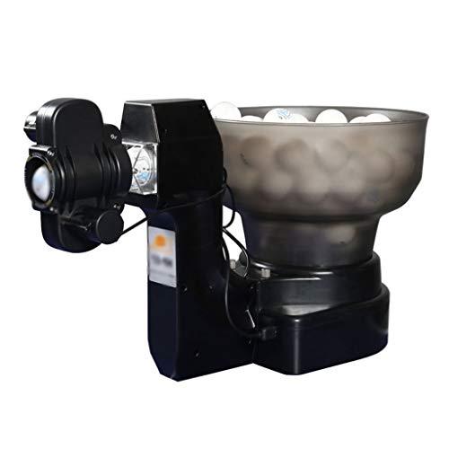 GSS-Rollstühle Tischtennis Maschine mit 36 verschiedenen Spinbällen, automatische Tischtennis-Roboter-Ballmaschine für Einzelpersonentraining und Bewegung
