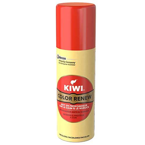 Kiwi Nettoyants Chaussure Rénovateur Daim/Nubuck, Renovador para Calzado de Ante & Nubuck, Color Neutro, Espuma en Spray ✅