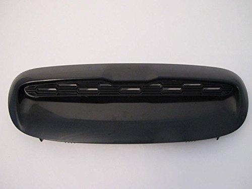 (2) Rennwagen-Lufteinlass ABS-Lüftergrill für 2001–2006Mini Cooper R53JCW