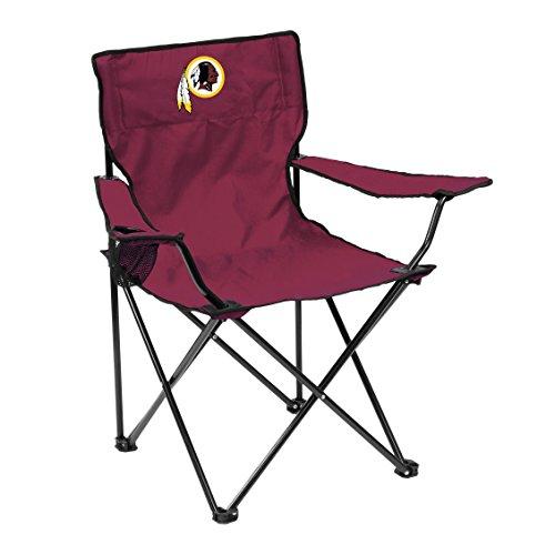 Logo Brands NFL Washington Redskins Quad Chair Quad Chair, Maroon, One Size