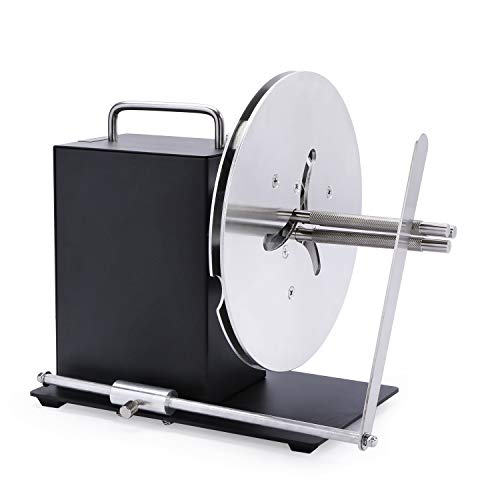 U.S. Solid Automatic Label Rewinder Rewinding Machine w/Adjustable Core Holder 1