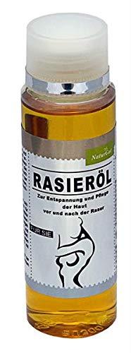 Exclusive Rasieröl für SIE Frauen 100ml mit Baobaböl, spendet Feuchtigkeit - beugt Irritationen, Rasurbrand, Rötungen und Hautreizungen