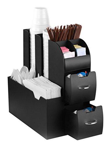 CEP Take a Break Station de Rangement avec Tiroir Coulissant Plastique Noir 13,7 x 32,0 x 28,0 cm
