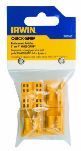 Irwin Gereedschap Vervangende Pads voor Quick-Grip Handi-Klemmen, 6-Pack (1826579)