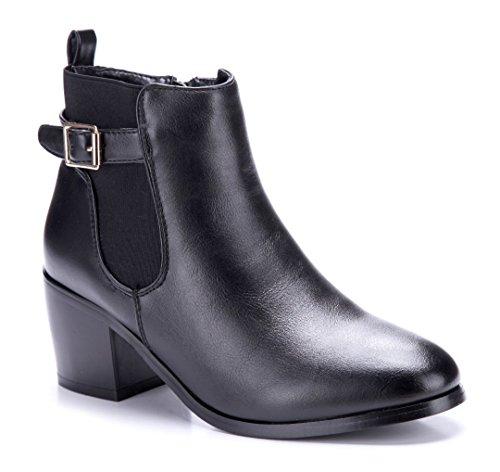 Schuhtempel24 Klassische Stiefeletten schwarz aigonnay