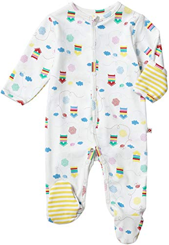 Piccalilly Beehive Sleepsuit 3-6 Months