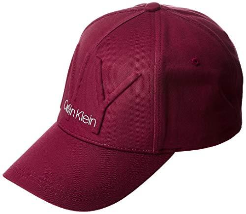 Calvin Klein K60k606088 Gorra de béisbol, Rojo (Tibetan Red Xcp), Talla única...