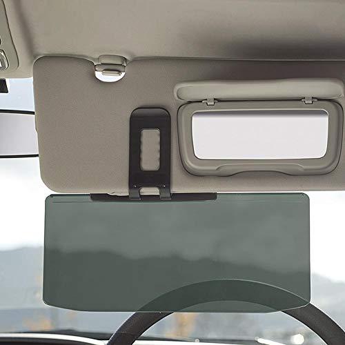 fancyU Auto Sonnenblende, Auto Sonnenblende Erweiterung, Auto Anti Glare Driving Shading Spiegel, Anti Shading Spiegel Auto Anti-Glare Clip-on Shield Sonnenschutz