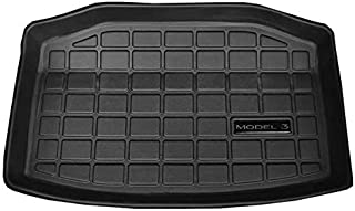 TOOGOO Car Trunk Mat Storage Mat Cargo Tray Trunk Waterproof Protective Pads Compatible for Tesla Model 3 (Rear Trunk Stor...