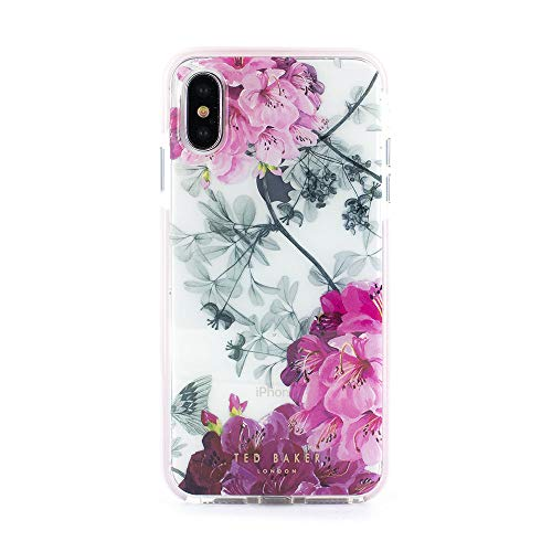 Ted Baker 64839 Anti Shock case für Apple iPhone X/Xs Babylon Nickel