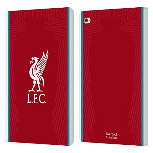 Official Liverpool Football Club Home 2020/21 PU Leather Book Wallet Case Cover Compatible For Apple iPad mini 4