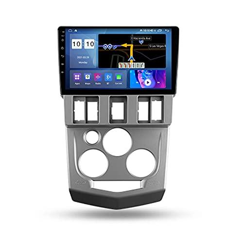 ADMLZQQ Autoradio Coche Bluetooth 2 DIN Android Radio De Coche 9'' Pantalla Táctil 5G WiFi Plug and Play Completo RCA SWC Soporte Carautoplay/GPS/Dab+/OBDII para Renault Logan 1 2004-2009,M500s