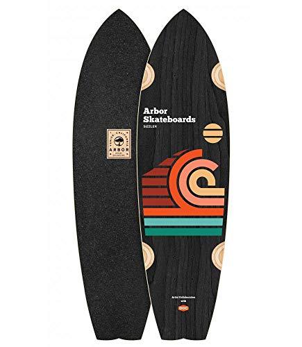 Skate Skateboard Longboard Arbor Deck Artist Draplin Sizzler 32