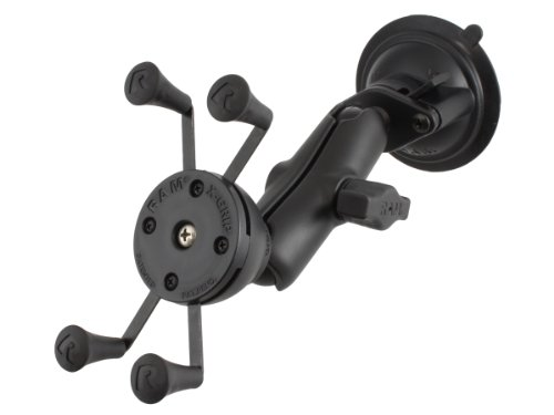 Price comparison product image RAM X-Grip Phone Mount with Twist-Lock Suction Cup Base