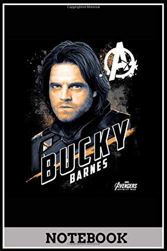 Humour funny Bucky Barnes notebook & journal, sketchbook, diary doodle 6x9 inch 120 pages……………………………………….: Notebook for working, planning, study…………… -  Independently published