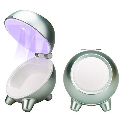 Summstar Beauty Blender Case, Beauty Blender Holder Organizer for Makeup Sponge Brush (Green)