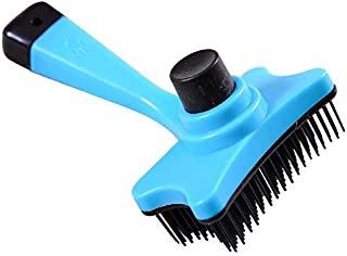 Pet Supplies Comb For Dogs Pet Cat Fur Hair Grooming Cat Comb Dog Hair Shedding Hair Tool Brush Products For Animals-Blue