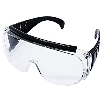 Safety Goggles Medical Plastic Frame Safety Glasses for Medical - Infection Prevention on surgery or treatment of dentists and surgeons Pc Lens Anti-Fog Anti-scratch Anti-UV