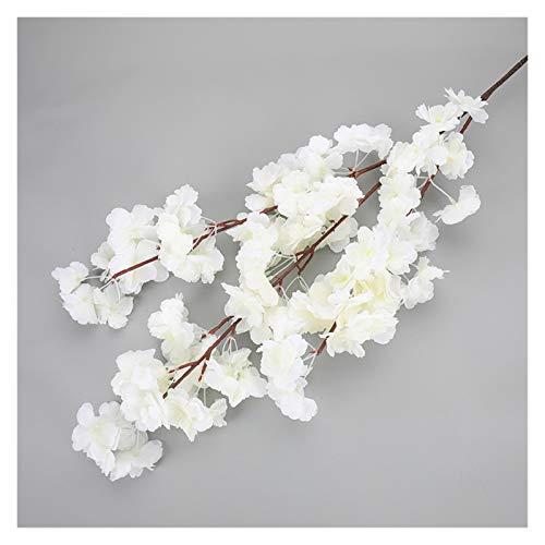 WANGJBH Trockenblumen 1pc,Kirschblüte Baum Künstliche Flowers120cm Silk Hohe Simulation Hochzeit Home Decor Fallen Dekorationen Fabrik Direkt Künstliche Blume (Farbe : SMTYH007)