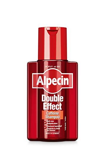 Alpecin Double Effect 1x 200ml   Anti roos en natuurlijke haargroei shampoo   Energizer voor sterk haar   Haarverzorging voor mannen   Made in Germany