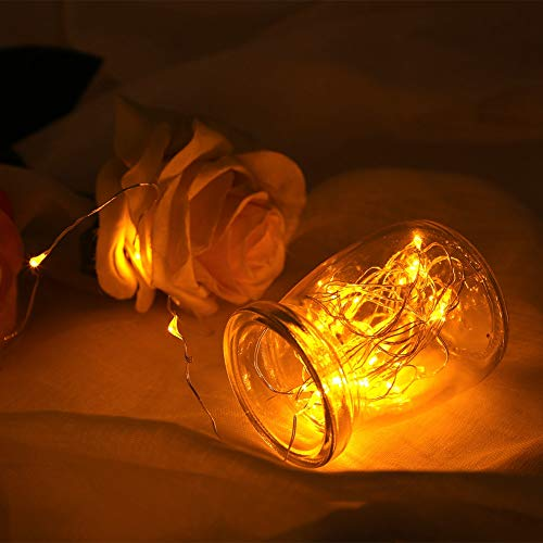 Flexible String Light, 5m Made of Copper Wire and Abs Wire Diameter Welding Point for Festive Ornament Decoration
