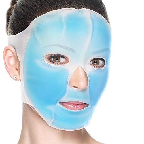 5 Piezas - Máscara de Gel Facial Frio, Antifaz Refrescante ...