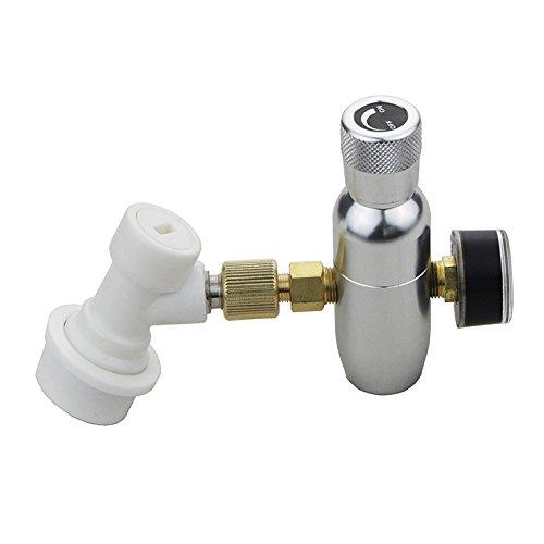 Regler CO216g Ladegerät-Set 0–150Psi mit Keg Gas Disconnect für Draft Bier...