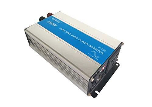 EPEVER® REINER SINUS Spannungswandler IP Serie Inverter Wechselrichter 12V DC auf 230V AC Stromwandler (IP350-12, 350W 12V/230V)