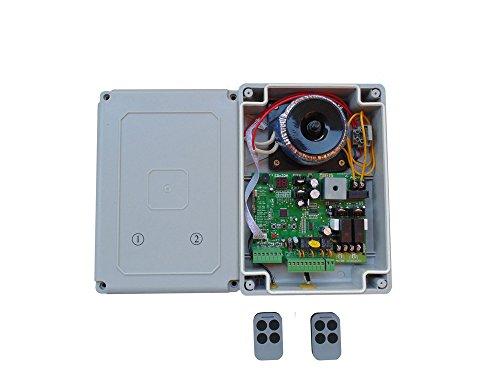 Commande avec boîtier et transformateur pour 24 V entraînements avec des volets main émetteur avec écran