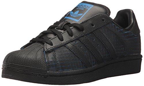 Adidas Originals C77124 - Zapatillas de Piel Unisex Adulto, Color Negro, Talla 38 EU