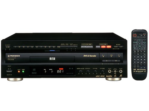 Pioneer DVD/LDコンパチブルプレーヤー カラオケ対応 DVL-K88