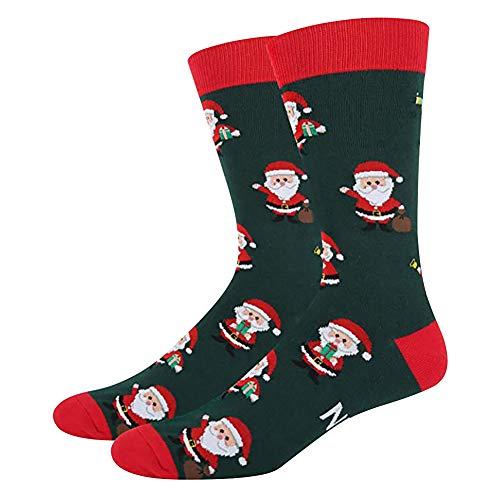 Kidoll Casual Sock,Regalo di novità per Natale, Lettera Stampata Cotone Spandex Calzetteria Calzature