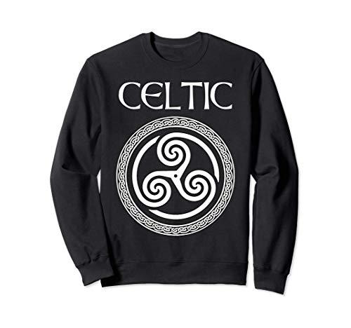 Celtic Heritage Ancient Celtic Triskelion Symbol Sweatshirt