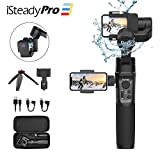 Hohem isteady pro 3 Kit 3-Axis Action Camera Gimbal Stabilizer Compatible with GoPro Hero 8 Hero 7/6/5,DJI osmo ation, Yi cam 4K, with Adjustable Tripod and Phone Clip Kits