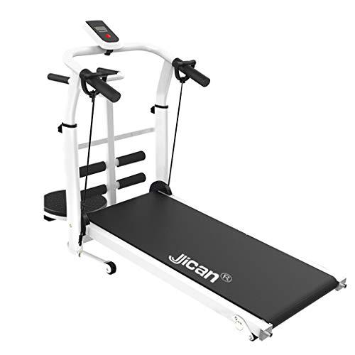 Aerobic Training Machines Treadmills Treadmill Folding Machine Tilt Fitness Treadmill Multi-Function Weight Loss Aerobic Walking Treadmill (Color : Black, Size : 115x52x110cm)