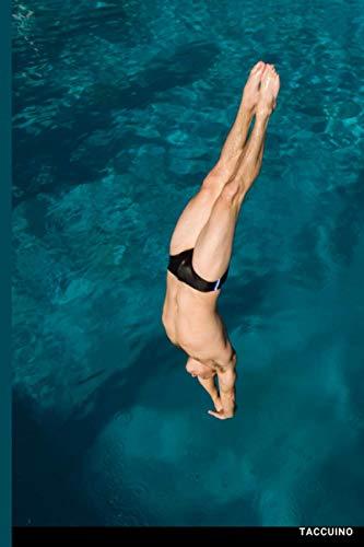 Taccuino Passione Sport: 122 pagine Immersioni Trampolino Piscina  Regalo per adulti, uomini, donne, adolescenti e bambini per Natale o compleanno