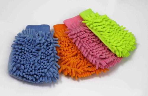 Best verkopende Microfiber Auto Keuken Huishoudelijke Wassen Schoonmaak Handschoen No.1