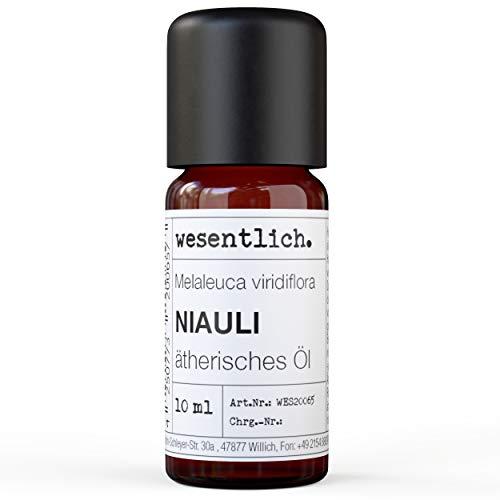 Niauliöl - reines ätherisches Öl von wesentlich. - 100% naturrein aus der Glasflasche (10ml)