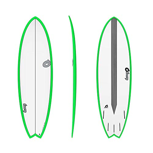TORQ Epoxy TET CS 5.11 - Tabla de Surf, Color Verde