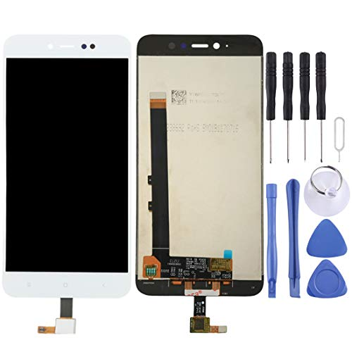 Dongdexiu Recambios para el teléfono móvil For Xiaomi Redmi Note 5A Pro/Prime Pantalla LCD Asamblea de digitalizador de Pantalla táctil reemplazo del teléfono (Color : Blanco)