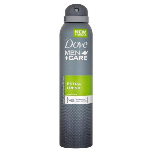 Dove Men+Care, Déodorant extra frais et sans alcool pour homme, 150 ml