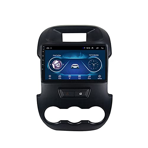 DSAK Coche GPS Navigation Coche Reproductor Multimedia La Imagen De Inversión Es Adecuada para Ford Ranger 2011-2014 Coche GPS Navigator