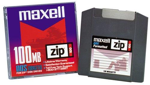 Maxell ZIP 100 DISK 100MB 1PK ( ...
